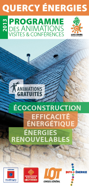 Quercy Energies Visites éco construction et animations